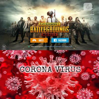 pubg mobile x virus corona