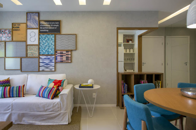 Sala De Estar Integrada Com Jantar ~ Pequenas salas de estar e jantar integradas!  Jeito de Casa  Blog de