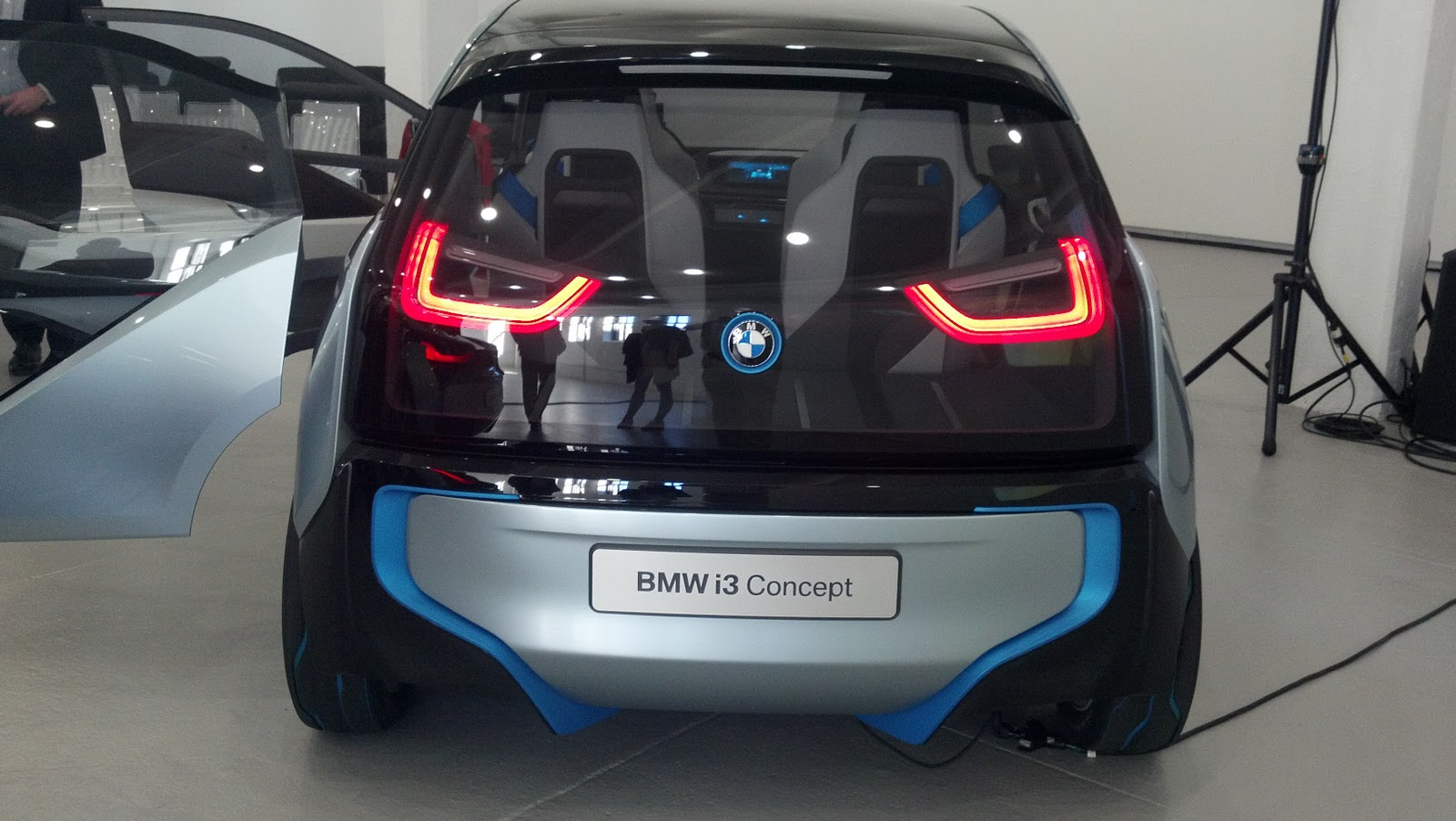 The Electric Bmw I3 Bmw I3 Quot Special Sneak Peek Quot In Nyc