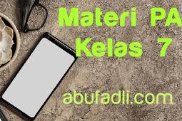 Materi PAI Kelas 7: Islam Memberikan Kemudahan melalui Shalat Jama' dan Qashar