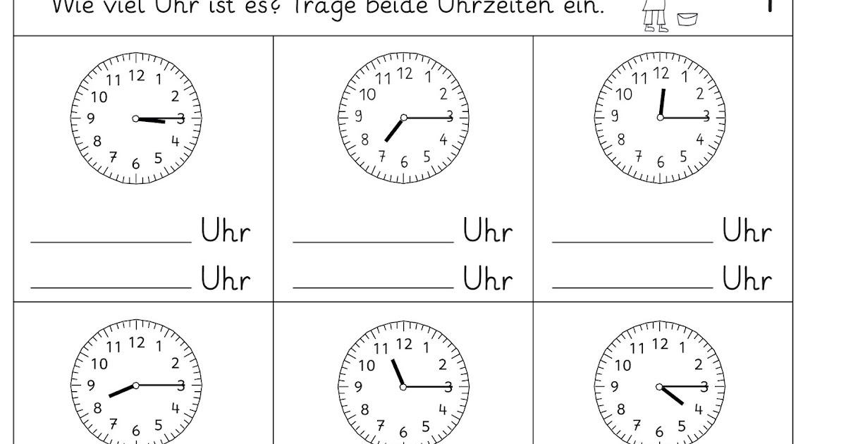 Großzügig Zeitmessung Viertel Nach Arbeitsblatt Zeitgenössisch ...