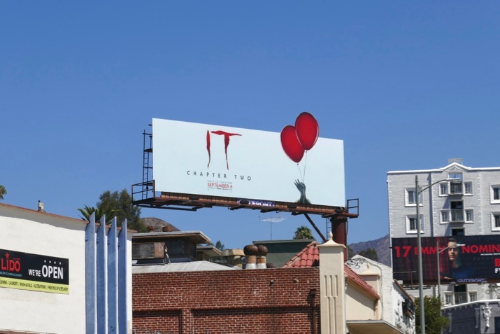 IT Chapter Two film billboard