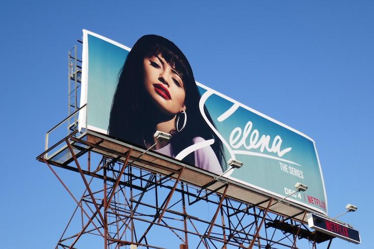 Selena Series Netflix billboard