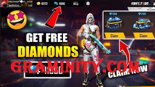 Graminity.com || Get Diamond free fire using graminity com