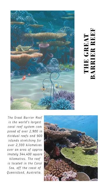 Finding Nemo (2002) Where: Great Barrier Reef, Sydney, Australia.