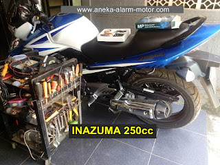 Cara Pasang Alarm Motor Suzuki Inazuma 250cc