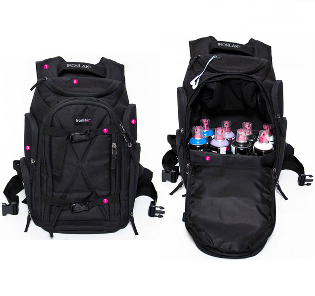 Giant Productions In Stock Ironlak Backpack
