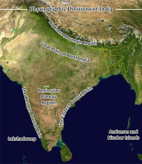 Physiographic Divisions of India