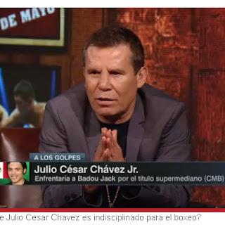 Julio César Chávez le pide a su hijo se retire