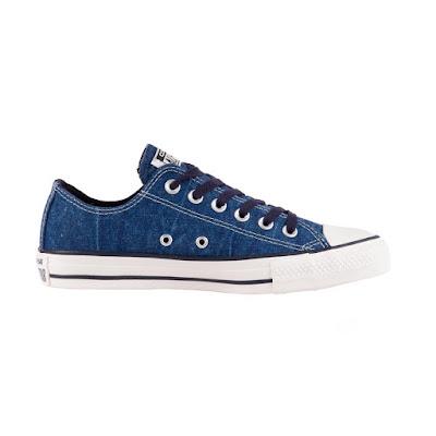Tenis Converse All Star Chuck Taylor Azul/Marinho Escuro/Amendoa