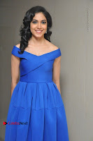 Actress Ritu Varma Pos in Blue Short Dress at Keshava Telugu Movie Audio Launch .COM 0038.jpg