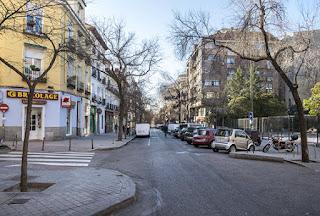 La calle Galileo de Madrid, donde estaba la consulta del Doctor Otero