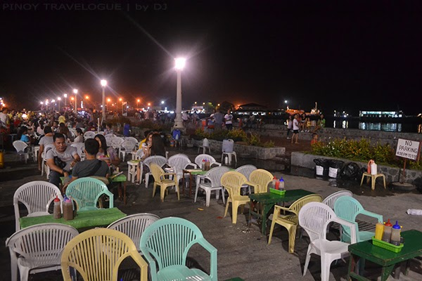 Food tiangge at Rizal Boulevard