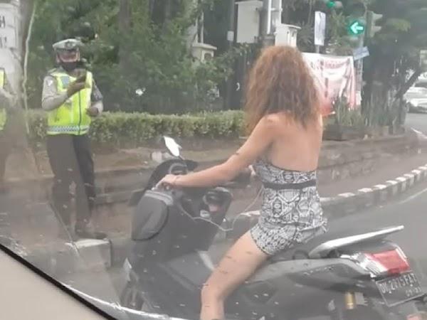 Viral Bule Rusia di Bali, Sudah Langgar Aturan Masih Ngotot ke Polisi