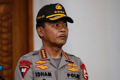 Jenderal Idham Azis: Tidak Perlu Menunggu Ayam Berkokok, Saya Suruh Copot Itu