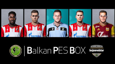 PES 2020 Facepack #4 by Bojanredstar