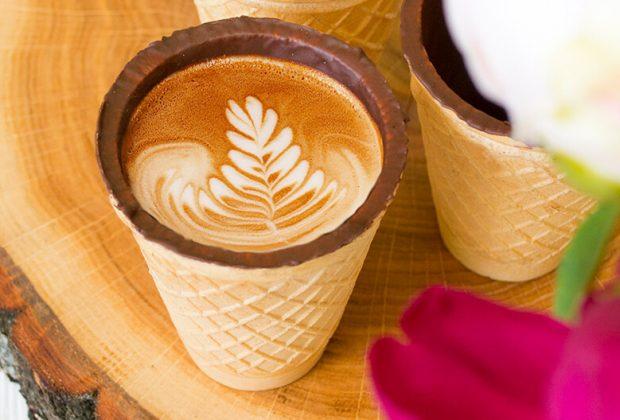 Edible coffee cups future business ideas
