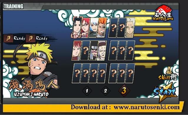 Download Naruto Senki The Last V2 Mod Naruto-War Apk Unlock Kimimaro, Pain & Orochimaru