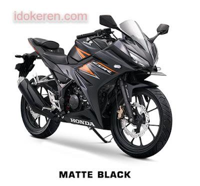 Honda CB150R Matte Black