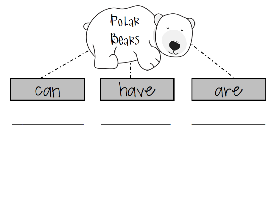 First Grade Fairytales: Polar Bears & Penguins: Crafts and Activities