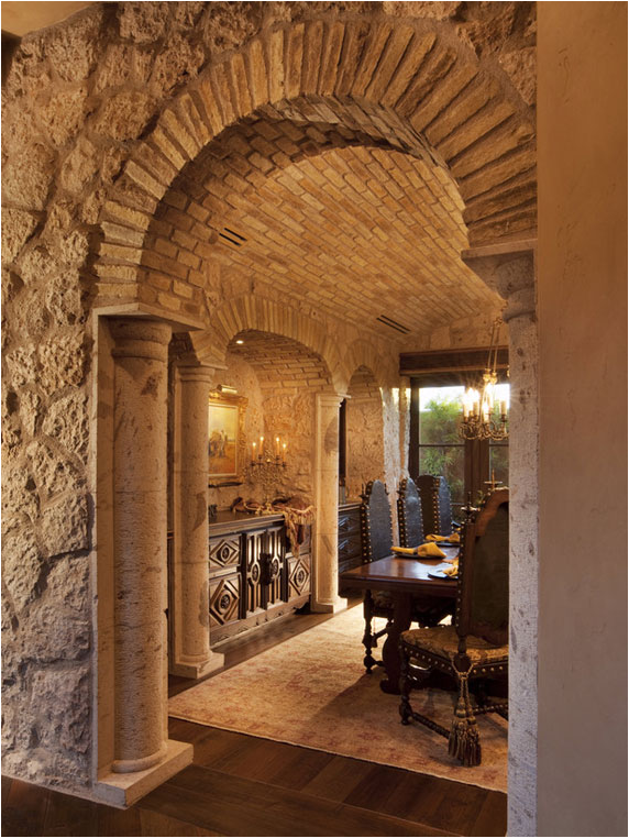 Key Interiors by Shinay: Tuscan Dining Room Design Ideas