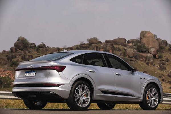 Audi e-Tron Sportback: assinatura - R$ 11.890 por mês, no Brasil