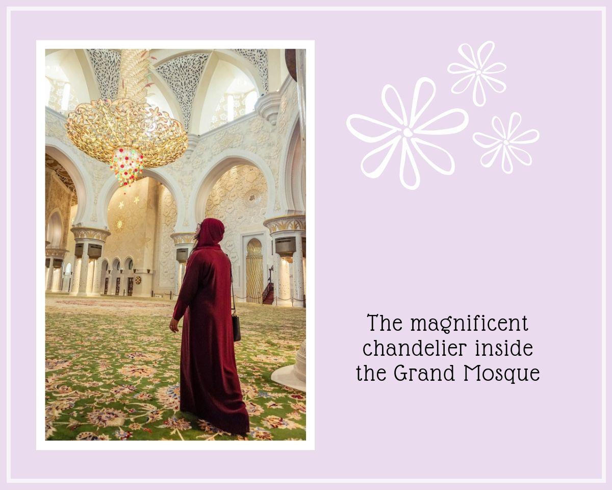Sheikh Zayed Grand Mosque Main Prayer Hall