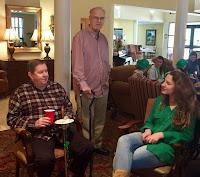 Catholic's Key Club Celebrates St. Patrick's Day at Wesley Gardens in Montgomery 1