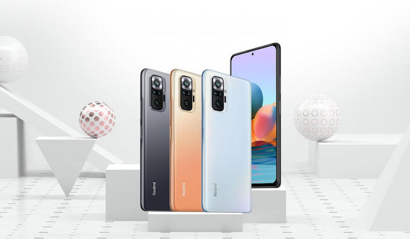 Redmi Note 10, 10 Pro, and 10 Pro Max now official in India!