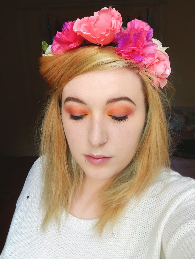 Spring Makeup Look Sunset