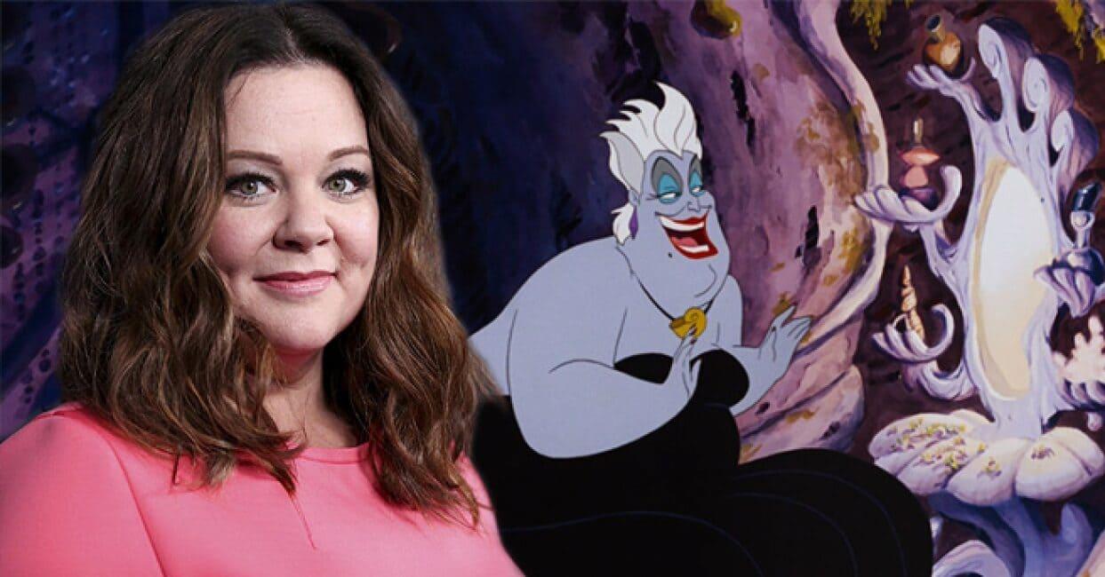 A Pequena Sereia  Melissa McCarthy será Ursula
