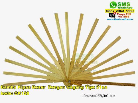 Jual Bambu Kipas Besar Dengan Gagang Tipe An Kode CK