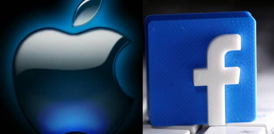 Apple and Facebook logo
