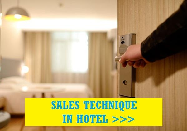 Sales technique in hotel