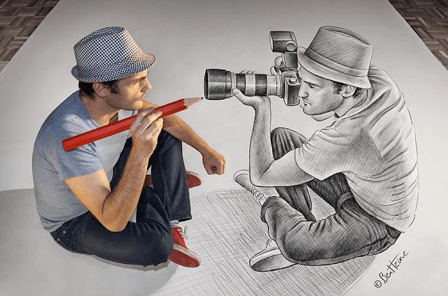 fotografia ou ilustracao