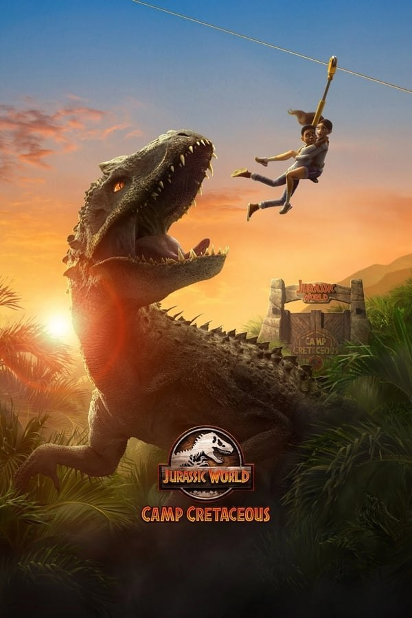 Jurassic World: Camp Cretaceous (2020) Season 01 480p 720p Web-DL Dual Audio (Hindi+English) | Netflix Series