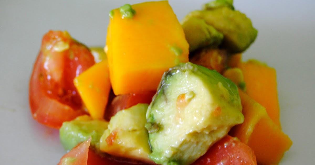 Ensalada de Aguacate Tomate y Mango  Asopaipas Recetas