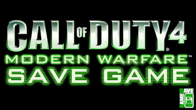call of duty 4 100 save game pc