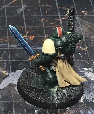 40K Blades of Vengeance Lieutenant WIP - power sword