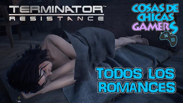 Terminator resistance todos los romances