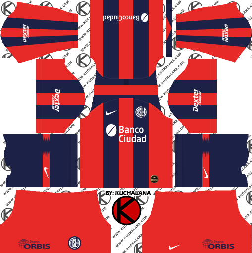 San Lorenzo 2019/2020 Kit - Dream League Soccer Kits