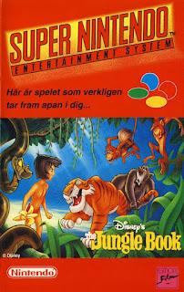 Retrogame online Jungle Book para SNES
