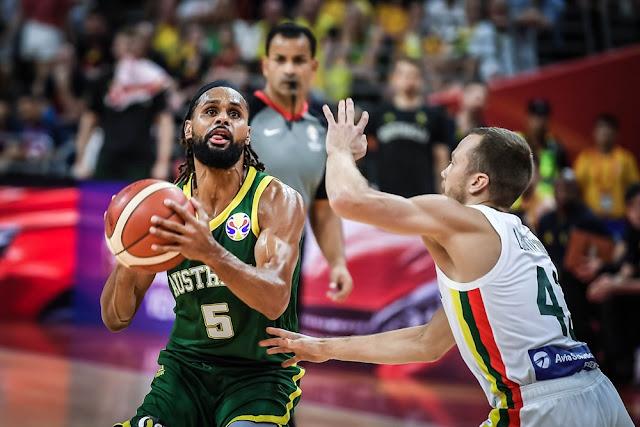 Resultado de imagem para Australia copa do mundo de basquete masculino