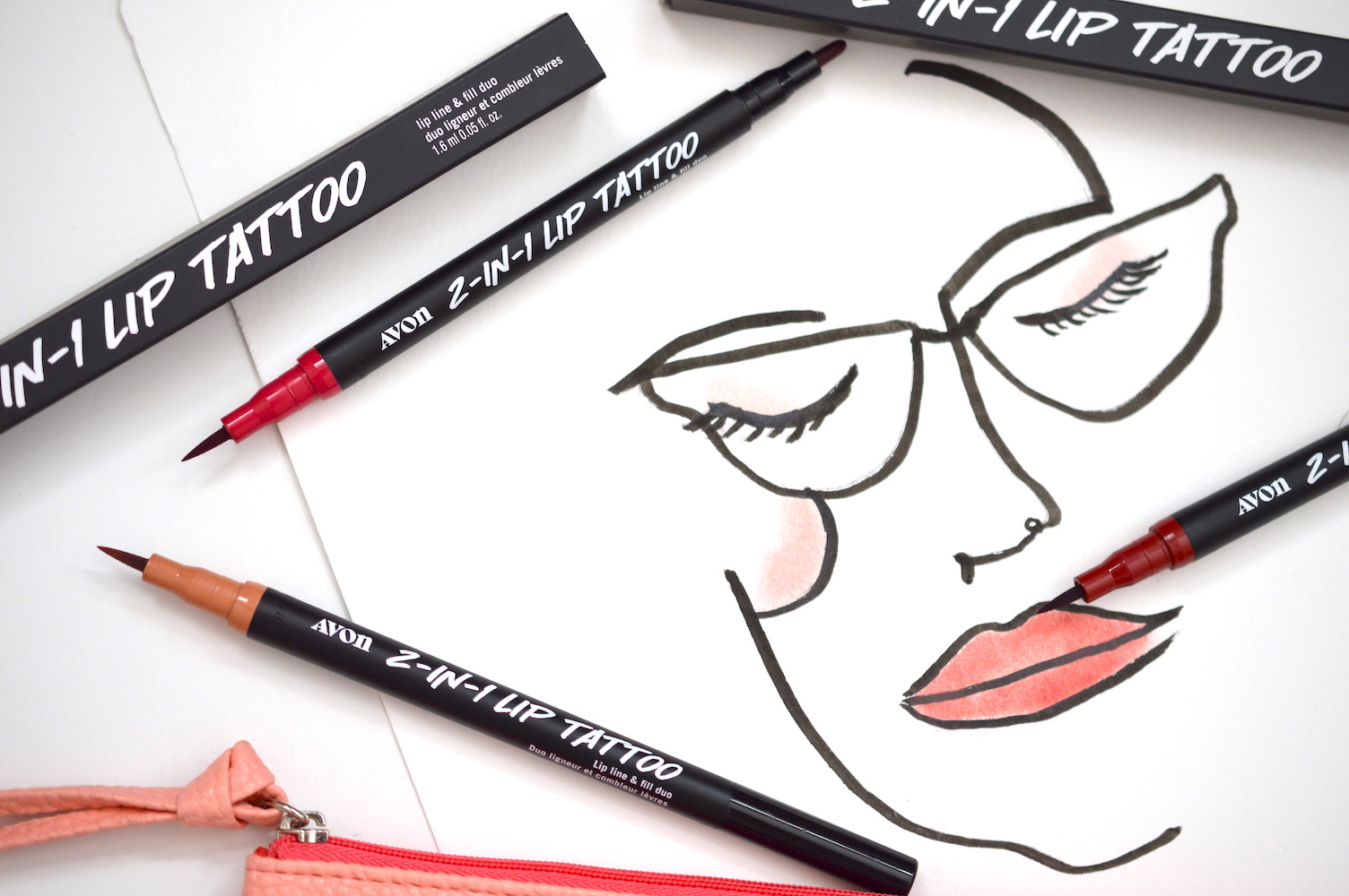 Review AVON 2-in-1 Lip Tattoo Lip Line & Fill Duo