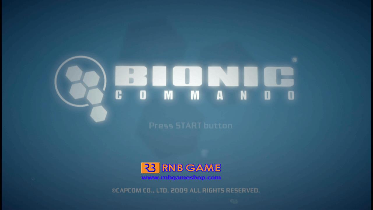 Download Game PS3 Bionic Commando CFW2OFW HEN