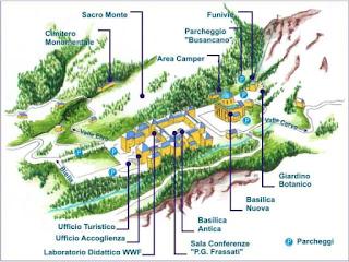 Come Raggiungere il Parco Botanico di Oropa