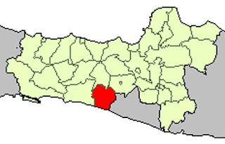 Gambar Peta Lokator Kabupaten Purworejo