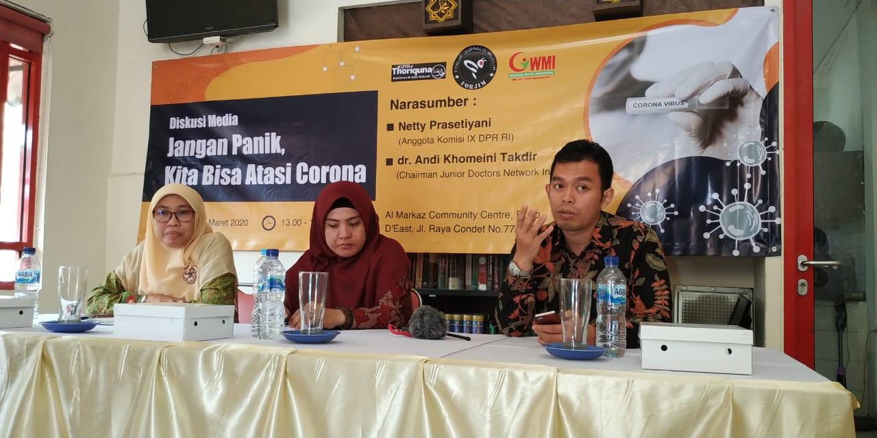 JDN Indonesia: Pemerintah Harus Bentuk Komite Nasional Wabah Corona