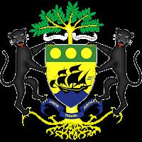 Logo Gambar Lambang Simbol Negara Gabon PNG JPG ukuran 200 px