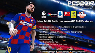 PES 2017 New Multi Switcher 2020 AIO Full Features
